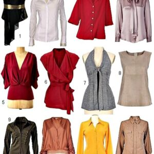 Blouses, Shirts and Tunics